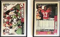 Larry Centers Signed 1996 Collector's Choice #354 Card Arizona Cardinals Auto Au