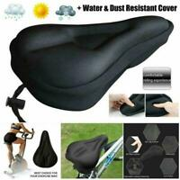 Soft Saddle Pad Cushion Cover Gel Silicone Seat For Mountain New. Bicycle X3L2