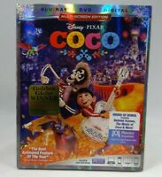 Coco (Blu-ray/DVD, 2018, 2-Disc Set, Includes Digital Copy)