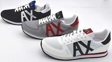 ARMANI EXCHANGE MAN SNEAKER SHOES SPORTS CASUAL TRAINERS CODE XUX017 XV028