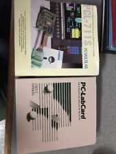 PC-Labcard PCL-711S Software + Manual ONLY No Card