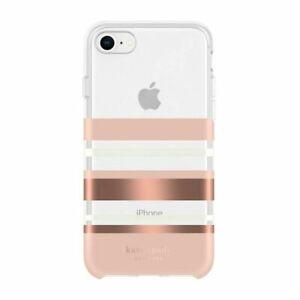 Kate Spade New York Apple iPhone 8/7/6s/6 Case Park Stripe - Rose