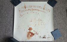 Pete Doherty Signed Blood Print Peter Libertines Babyshambles  VERY RARE
