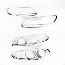 Chrome Headlight Taillight Lamp Cover Molding for HYUNDAI 2006-2009 Santa Fe CM