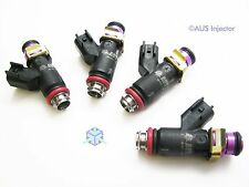 Set of 4 AUS Injectors 1400 cc HIGH FLOW fit {K24} TSX, ACCORD, CIVIC Si [H4-p]