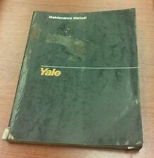 Yale Service Maintenance Manual for Models ERC 040-060 RA/ZA