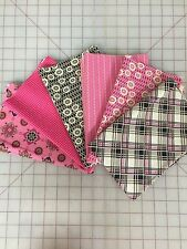 Denyse Schmidt Ansonia Fabric Fat Quarter Bundle in Magenta