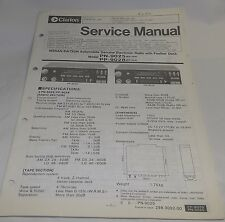 Clarion for Nissan Datsun AM-FM Cassette Digital Radio Service Manual PN-9025 28