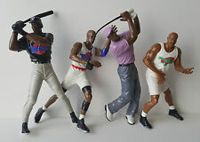 "Lot of 4 1996 Playmates 6"" Space Jam Action Figures Looney Tunes Michael Jordan"