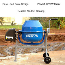 Portable Cement Concrete Mixer Electric Construction Tool High Grade Tipper Lock