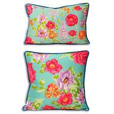 Vintage/Retro Floral Square Decorative Cushions