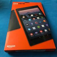 "Amazon Fire HD 10 Tablet 7th Gen, 32GB, Wi-Fi, 10.1"" Screen, Black, with Alexa"