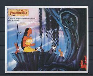 LO29233 Guyana Pocahontas disney good sheet MNH