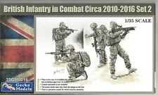 Gecko Models British Infantry in Combat Circa 2010-2016 #2, Figures 1/35 350016