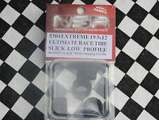 NSR TUNING SPARES TYRES REAR EXTREME SLICK 19.5X12 LOW PROFILE 5304 BNIP