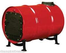 Cast Iron Barrel Stove Kit BSK1000 Convert 30/55 Gal Drum into Wood Stove 117873