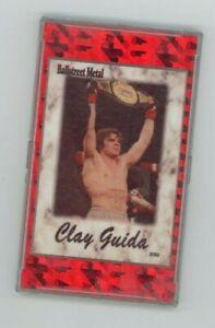 Clay Guida - UFC Champion  - Ballstreet METAL trading card w/ holder - MMA 2/50