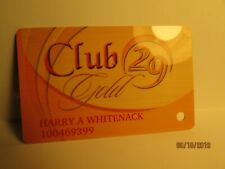 "Spotlight 29 Casino- "" Club 29""- Casino Players Card- So. Calif. - mint"