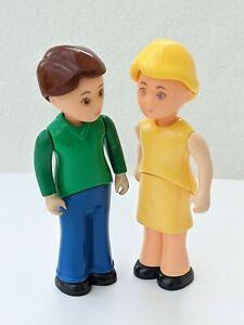 Little Tikes Dolls House Family Mum Dad Adult Man Woman Figures People Vintage
