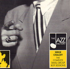 SERGE CHALOFF - THE COMPLETE SMALL GROUP BOP SESSIONS (1999 JAZZ CD)