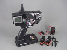 GS Racing TGX2.4G/GSRX 3-ch Radio System & GWS Servos for RC Car/Truck/Boat