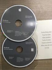 Mac OS X Leopard Install Disc 1&2 DVD Version 10.5.5