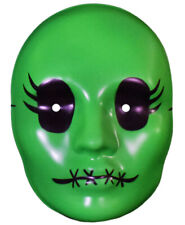 Authentic TRAGEDY GIRLS Sadie Cunningham Vacuform Mask Green NEW
