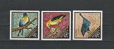 Guinée république  PA  faune oiseaux   1971   num : PA 97/99  **