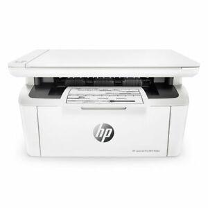 HP LaserJet Pro M28a MULTIFUNZIONE stampante laser scanner FOTOCOPIATRICE bn bia