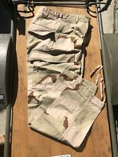 NEW U.S.ARMY DESERT CAMOUFLAGE DCU PANTS X-SMALL SHORT GREAT KIDS SIZE