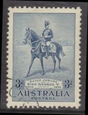 1935 Silver Jubilee King George V 3d Blue CTO SG 157 (598)