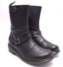 STUNNING, DR. DOC martens black leather  boots AU10/ uk8