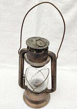 1930s Vintage Dietz Junior Cold Blast Brass Lantern Original Glass Globe Germany