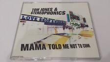 Tom Jones & Stereophonics - Mama told me not to come - singolo ottime condizioni