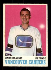 1970-71 O-Pee-Chee #119 Marc Reaume  EXMT/EXMT+ X872105