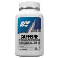 GAT CAFFEINE 200 mg Energy, Endurance, Focus 100 caps BOOST METABOLISM - SALE
