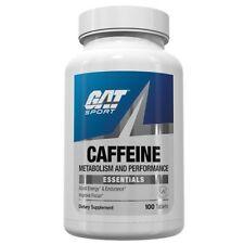GAT CAFFEINE 200 mg Energy, Endurance, Focus - 100 caps METABOLISM, PERFORMANCE