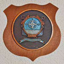 STANAVFORLANT plaque shield crest Dutch Navy Netherlands gedenkplaat NATO
