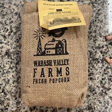 Wabash Valley Farms Big & Yellow Gourmet Popcorn Kernels-Burlap Sack (2 lb)
