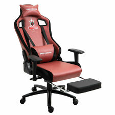 Gaming Chair Computer Swivel High-back Ergonomic Racing Office Full Brown Chairs