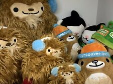 2010 Vancouver Winter Olympics Mascots Plush Toy Muk Muk Quatchi Miga Sumi x9