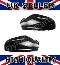 Vauxhall Astra H MK5 Wing Mirror Cover Cap Casing 04-09 Pair (Gloss Black)