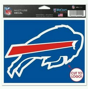 """Buffalo Bills 5"""" x 6"""" logo Die Cut Multi Use Decal Cling - Truck Car Window"""