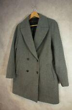 Zara Wool Blend Pea Coat Size L