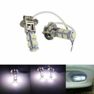 2 Stück H39SMD 5050 Auto Scheinwerfer Nebelscheinwerfer Birne Lampe Weiß 7000K