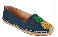 C. Wonder Embroidered Pineapple Denim Espadrilles Penelope Women's Size 5
