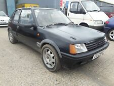 PEUGEOT 205 1.6 GTI RALLY / TRACK CAR CAGED / BUCKETS / 1.9 ALLOYS BARN FIND