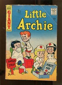 LITTLE ARCHIE #5 (3.5) BARBER SHOP! 1957