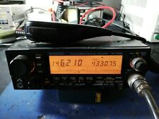 KENWOOD TM-721 RADIO VHF UHF FULL DUPLEXER CON MICRO ORIGINALE NO SCHEDA TONI