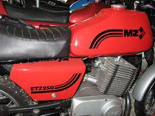 Aufkleber Set MZ ETZ 250 schwarz